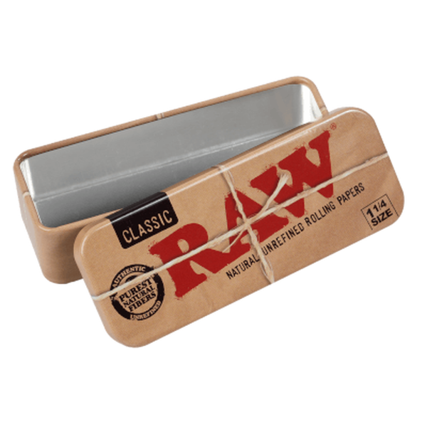 RAW Cone Caddy Metal Tin Case 1 1/4