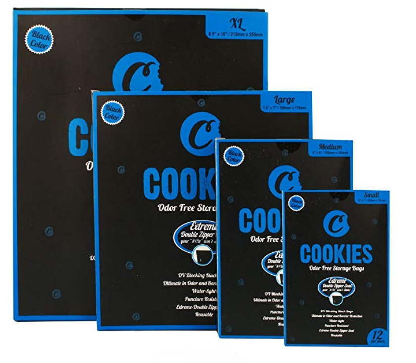 Cookies Sack Black Xtra Large