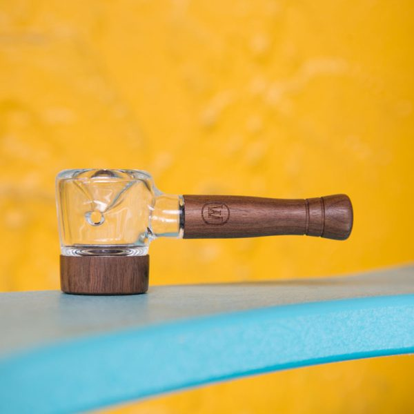 Marley Natural - Glass & Hazelnut Spoon Pipe