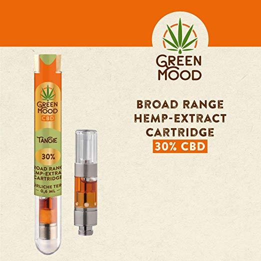 green mood cbd tangie 30%